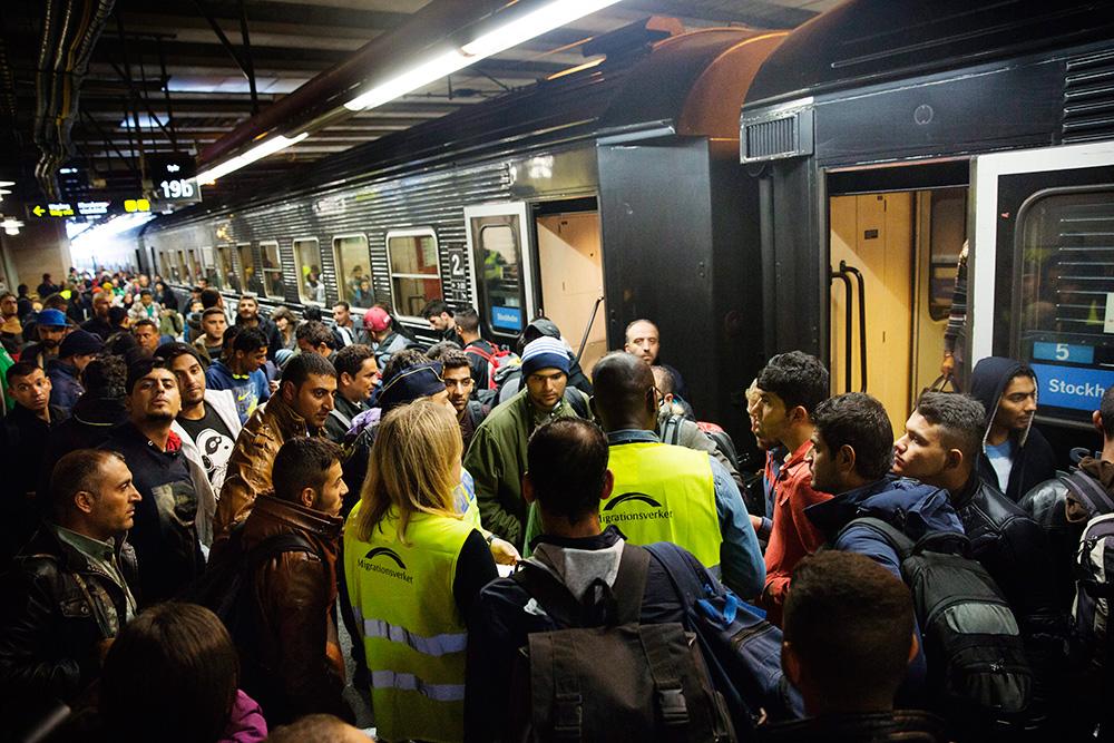Flyktingar migrationsverket