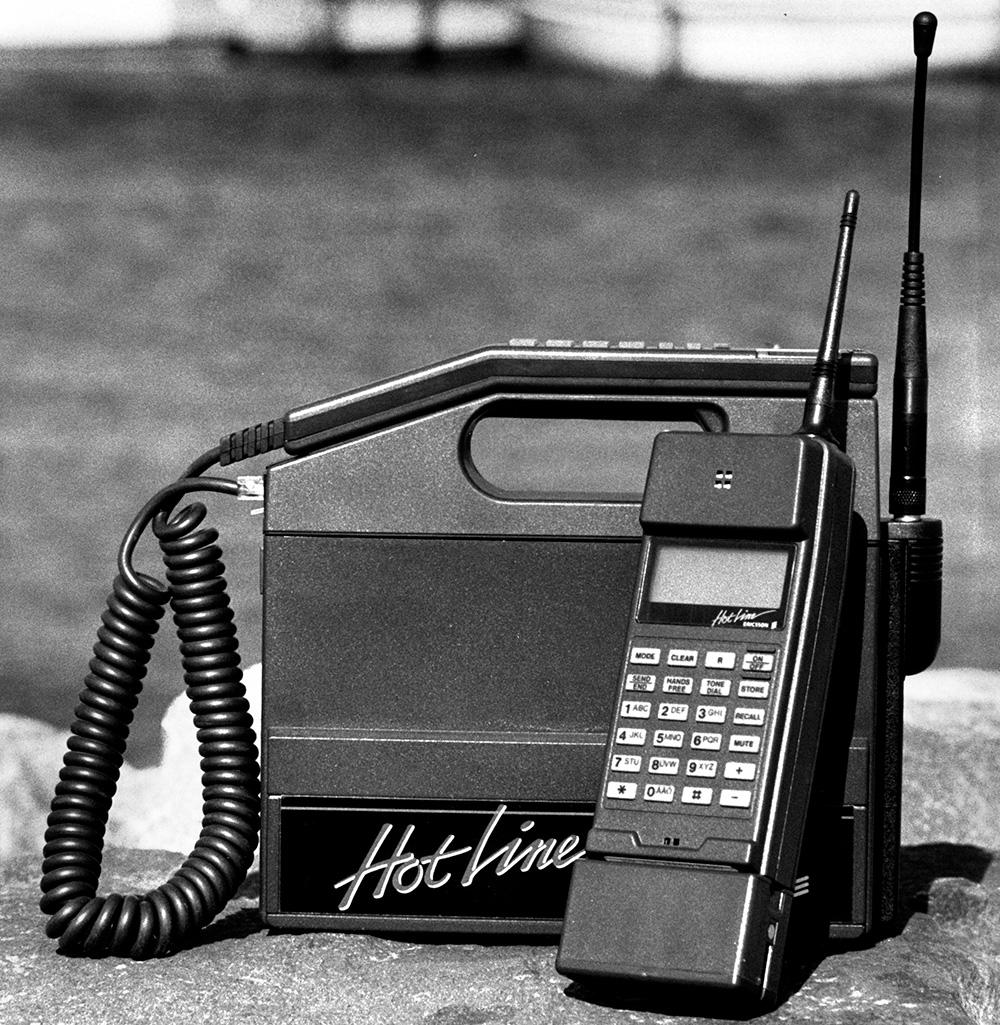 Ericsson HotLine mobiltelefon
