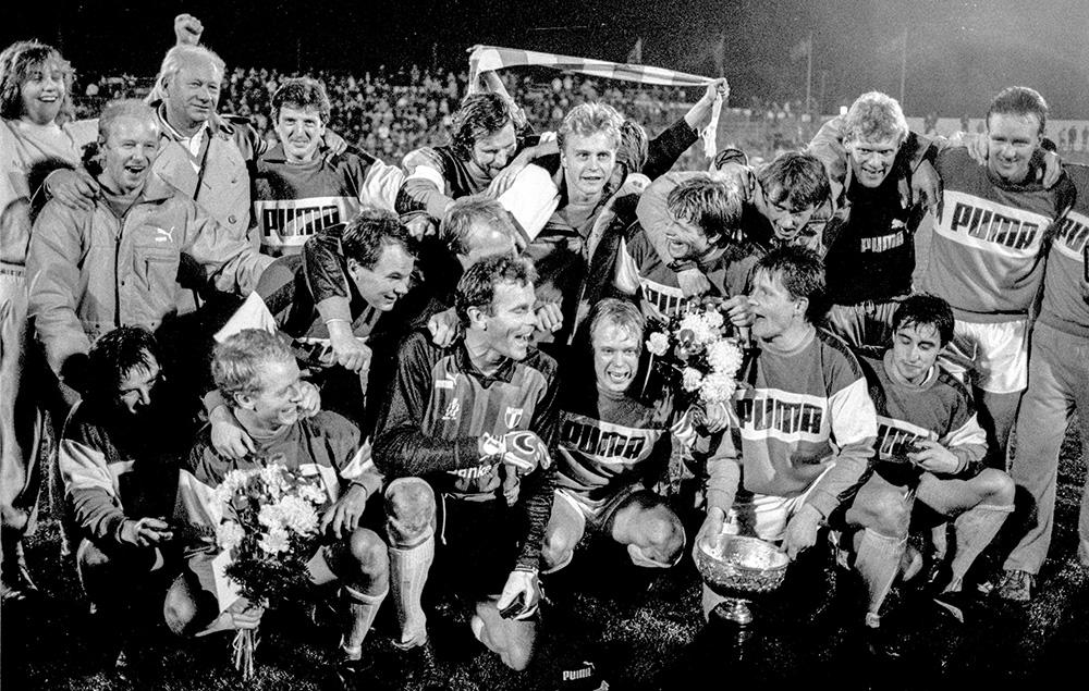 Malmö FF blir svenska m‰stare i fotboll 1986
